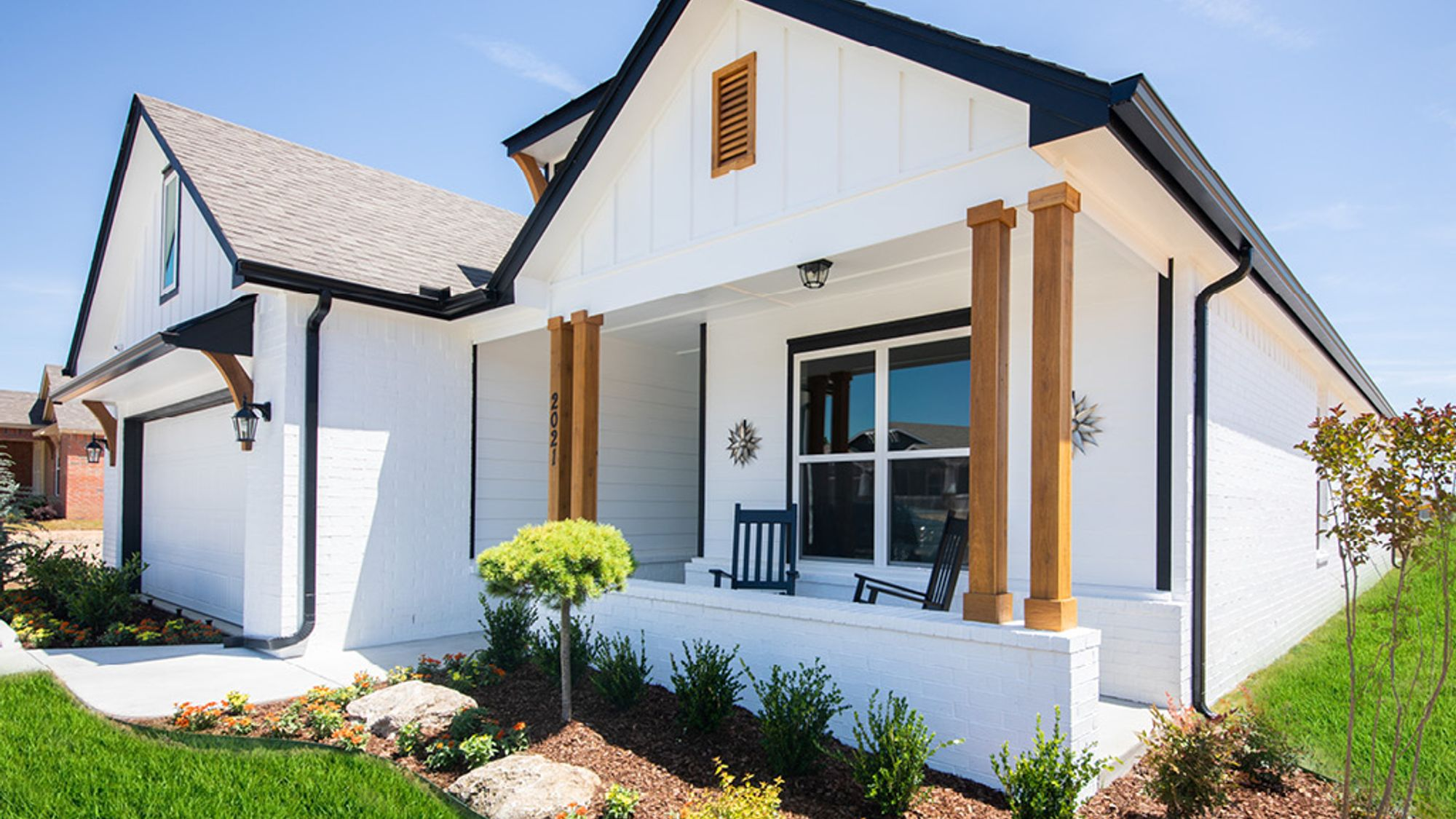 Aspen Crossing model home