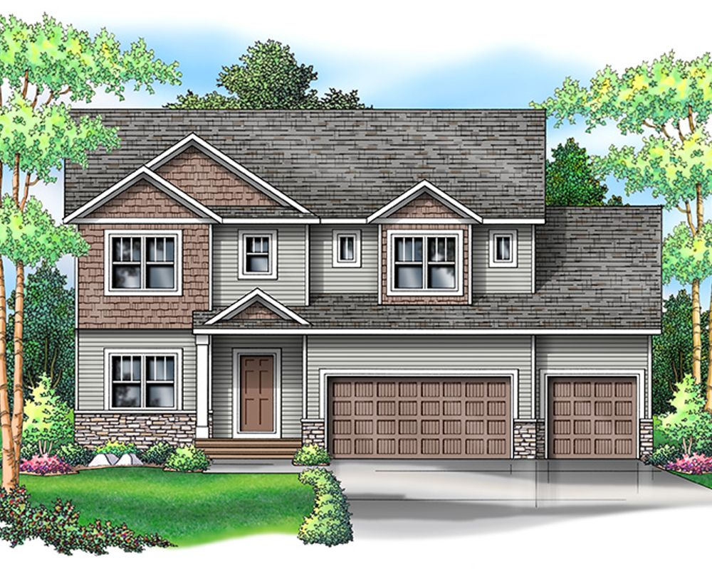 Brook View III Elevation A