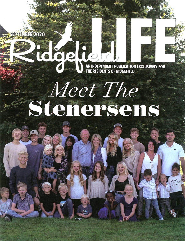 Ridgefield Life Magazine - Meet The Stenersens - Hard Work Pays Off