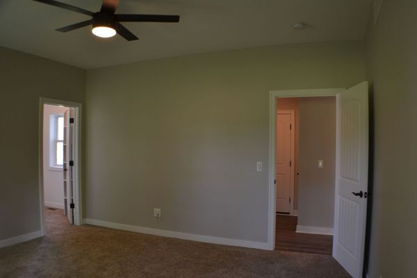 Master Suite, remote controlled ceiling fan