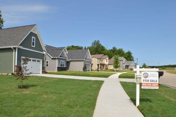 quiet neighborhood subdivision