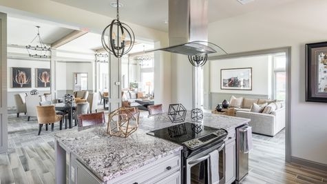 Barley Woods Clubhouse Kitchen 55+ Amenity