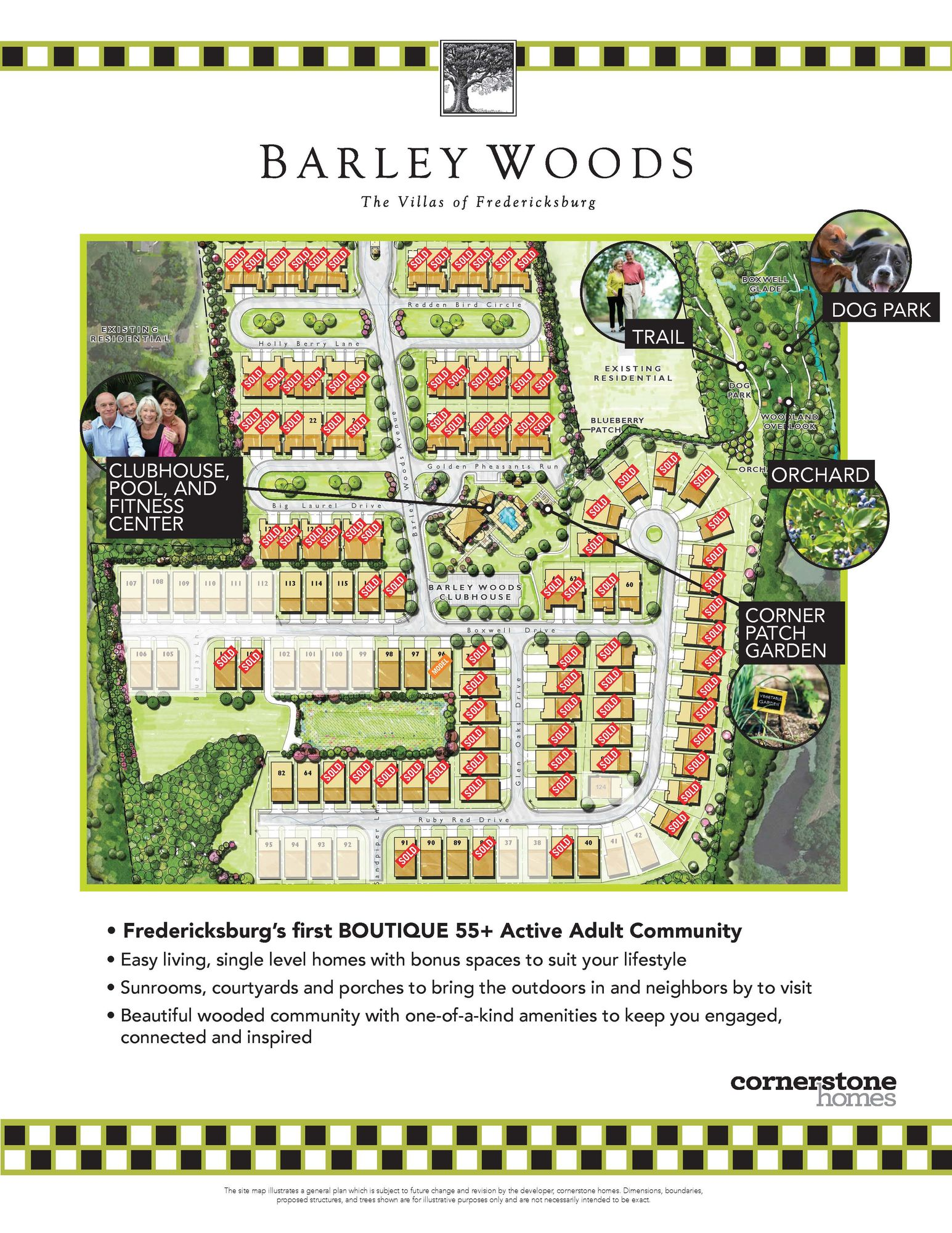 Barley Woods - The Villas of Fredericksburg