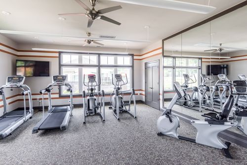 Barley Woods Fitness Center 55+ Living Fredericksburg Cornerstone Homes