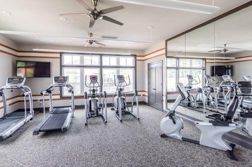 Barley Woods Fitness Center 55+ Living Fredericksburg Cornerstone Homes