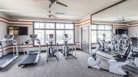 Barley Woods 55+ Clubhouse Fitness Center Amenity