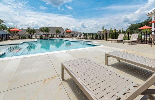Barley Woods Pool Fredericksburg 55+ Living Cornerstone Homes