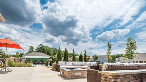 Barley Woods 55+ Clubhouse Patio Amenity