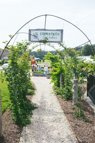 Corner Patch Gardens Entrance