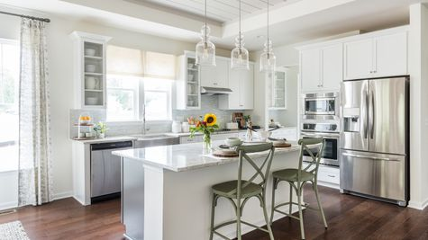 Kitchen Washington II by Cornerstone Homes