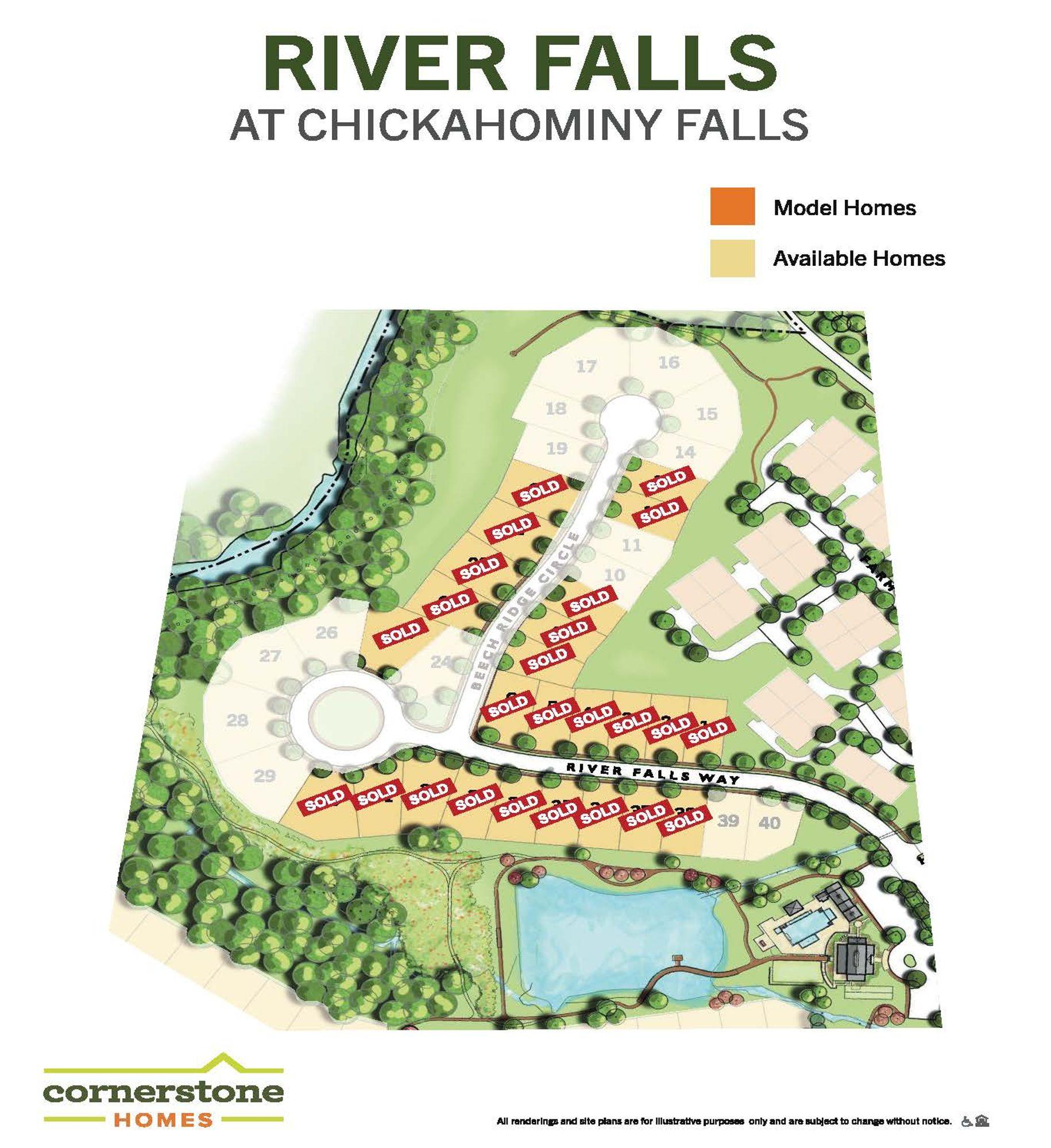 River Falls at Chickahominy Falls