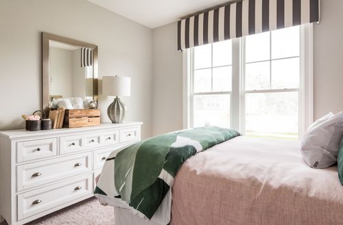 Cornerstone Homes guest bedroom natural lighting