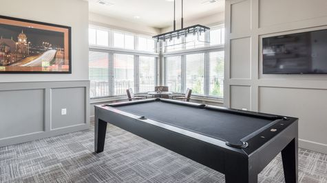 Barley Woods 55+ Clubhouse Billiards Room Amenity