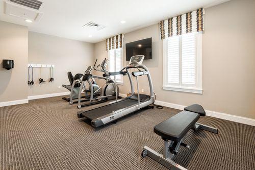Villas at Ashlake Fitness Center Clubhouse 55+ Living Cornerstone Homes