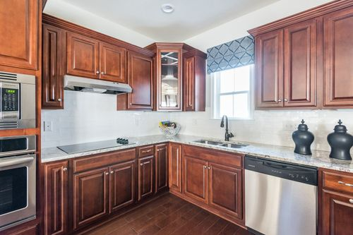 The Ducal Kitchen 55+ Living Cornerstone Homes