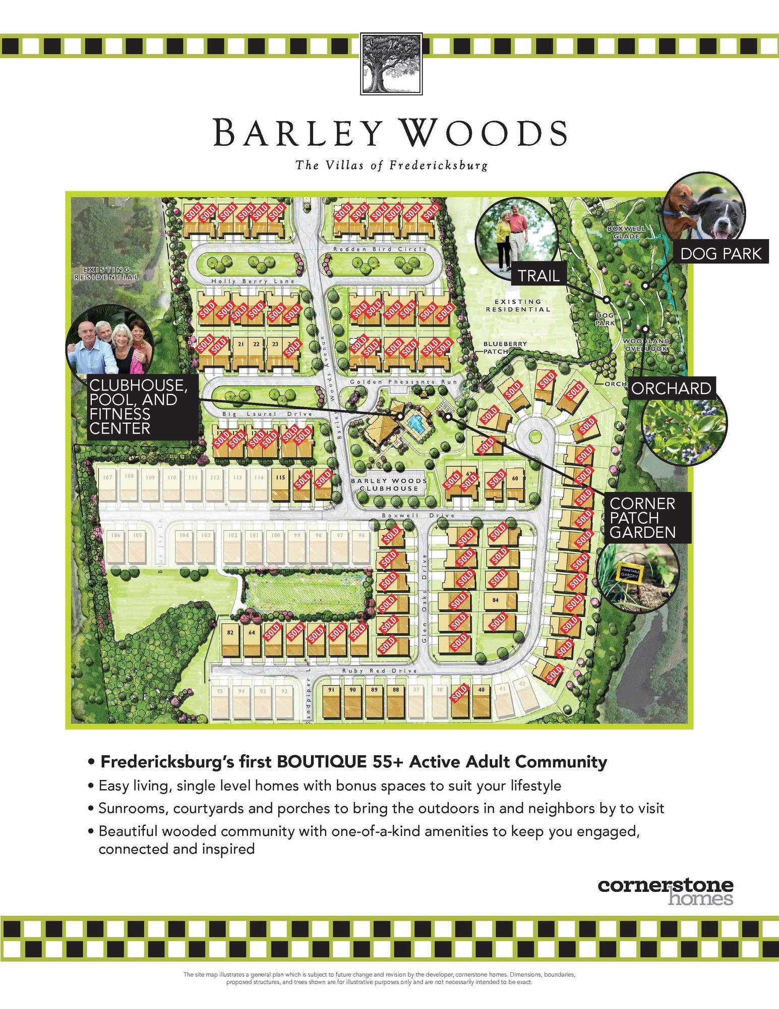 Barley Woods - The Villas of Fredericksburg