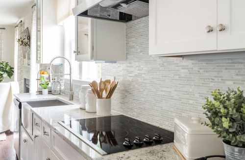 model home kitchen gormet