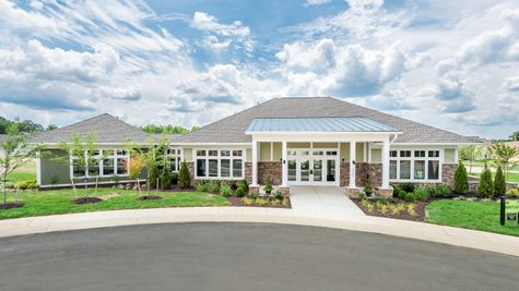 Barley Woods 55+ Clubhouse Amenity Cornerstone Homes