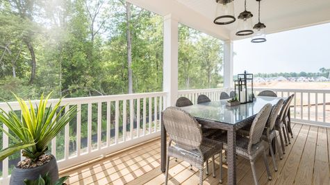 Screened Porch washington II by Cornerstone Homes
