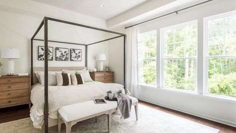 Master Bedroom Washington II by Cornerstone Homes