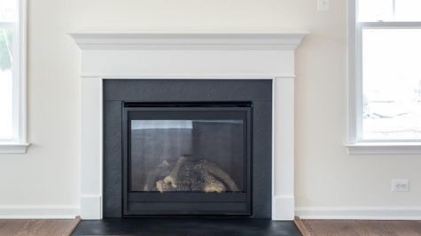55+ Cornerstone homes Fire Place