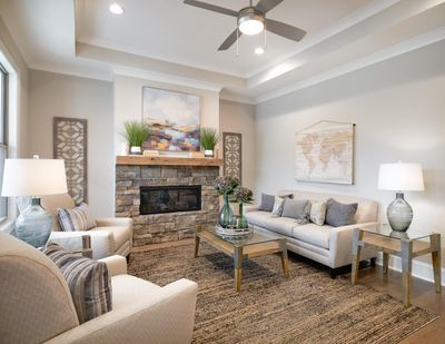 transitional design living room new tradition homes