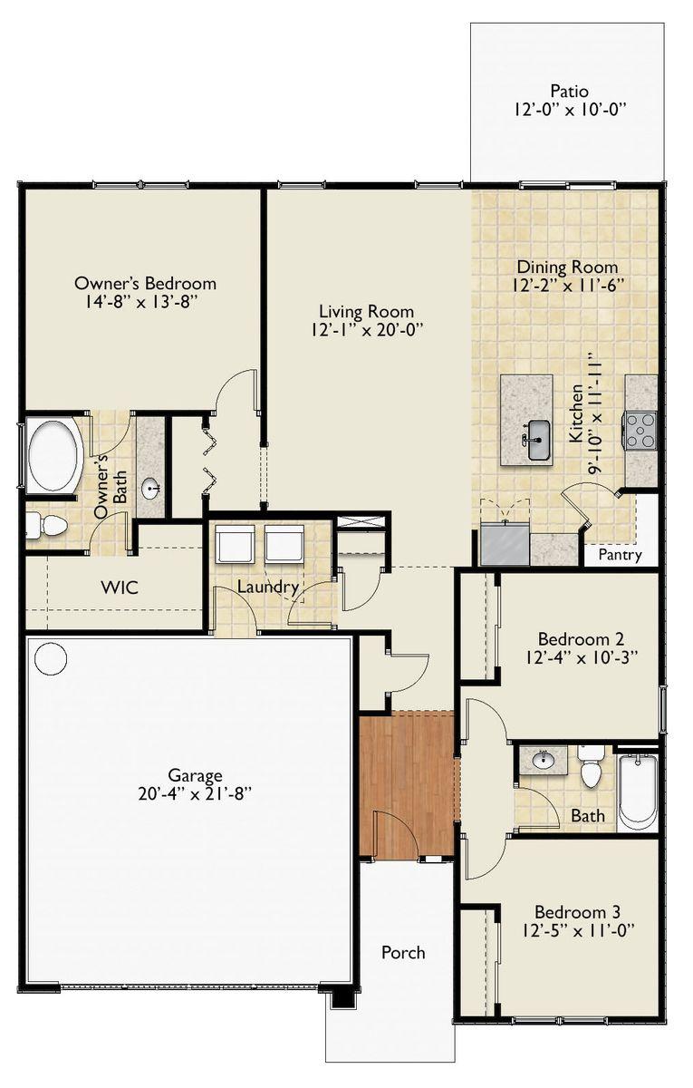 The Harper Floor Plan