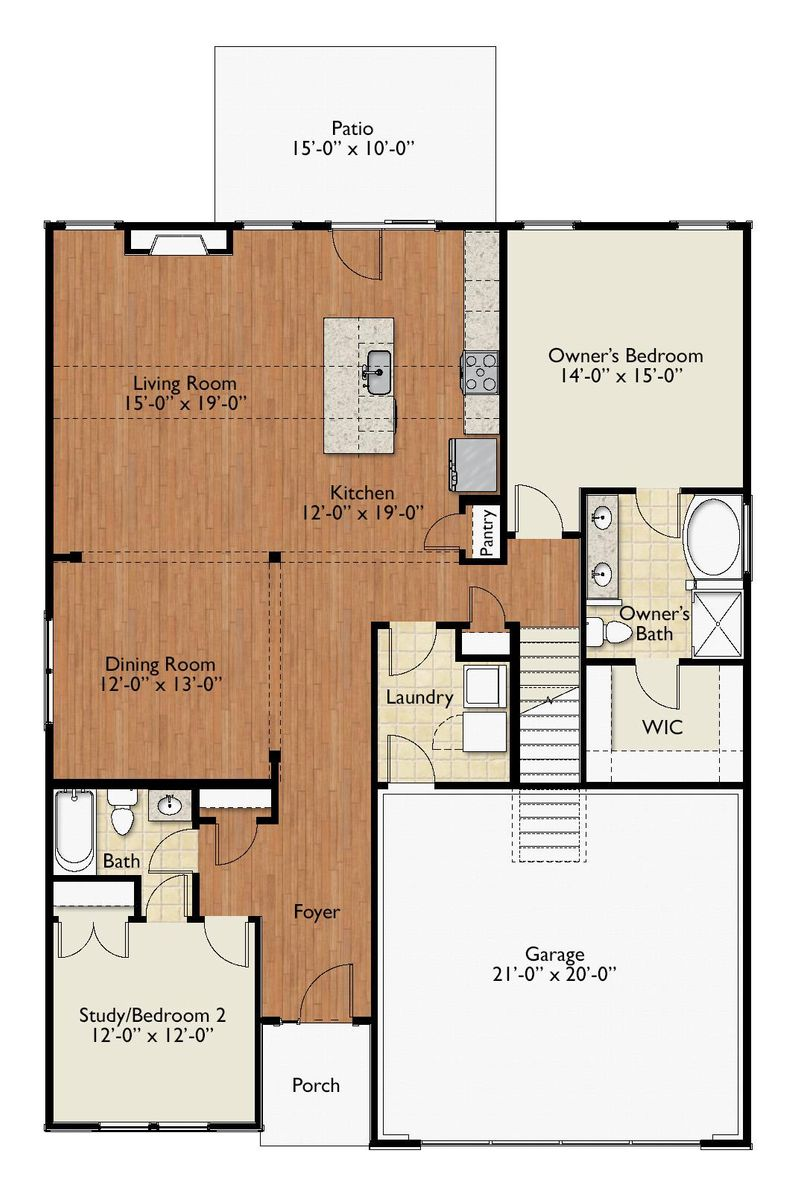 Kendal Floor Plan NEW