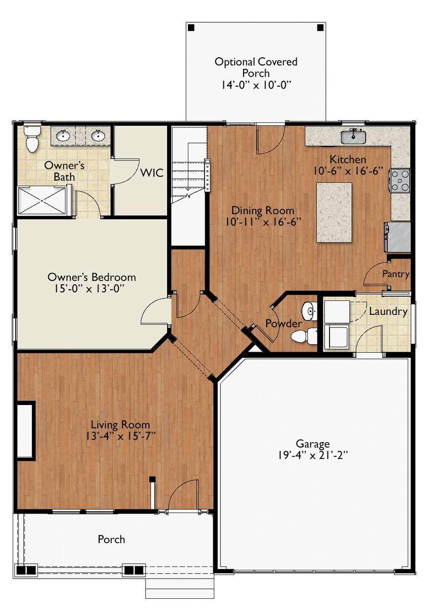 BelmontA New Floor Plan