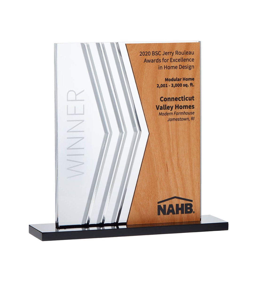 National Association of Home Builders Building Systems Council Jerry Rouleau Award for Excellence in Home Design