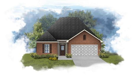 Cornel III A - Front Elevation - DSLD Homes