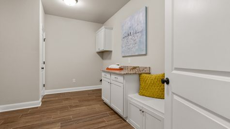 The Estates at Silver Hill Community - DSLD Homes - Sansa II A - Model Home Laundry Room
