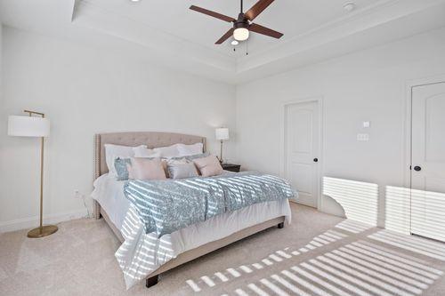 Cypress Park - Model Home Master Bedroom - Claudet II A - Belle Chasse, LA