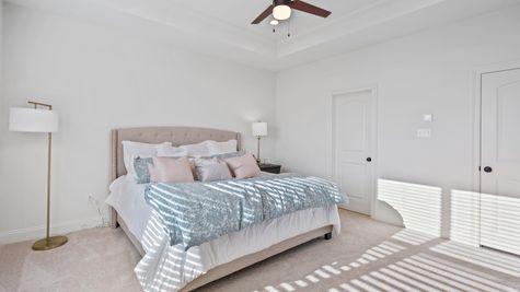 Cypress Park Model Home Master Bedroom - Belle Chasse - DSLD Homes