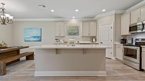 DSLD Homes- Hidden Lakes Estates- Denham Springs- Model Home Kitchen