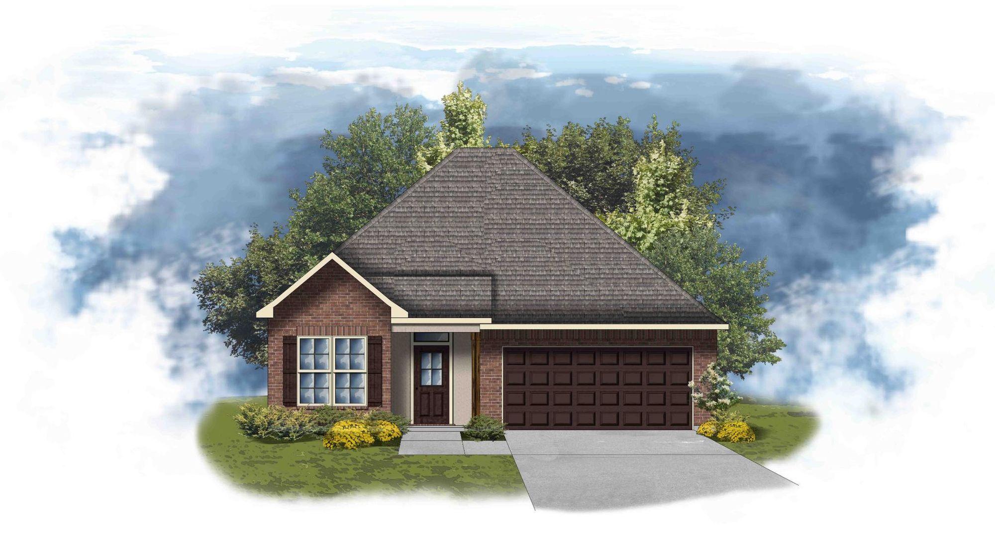 Birch II A - Open Floor Plan - DSLD Homes