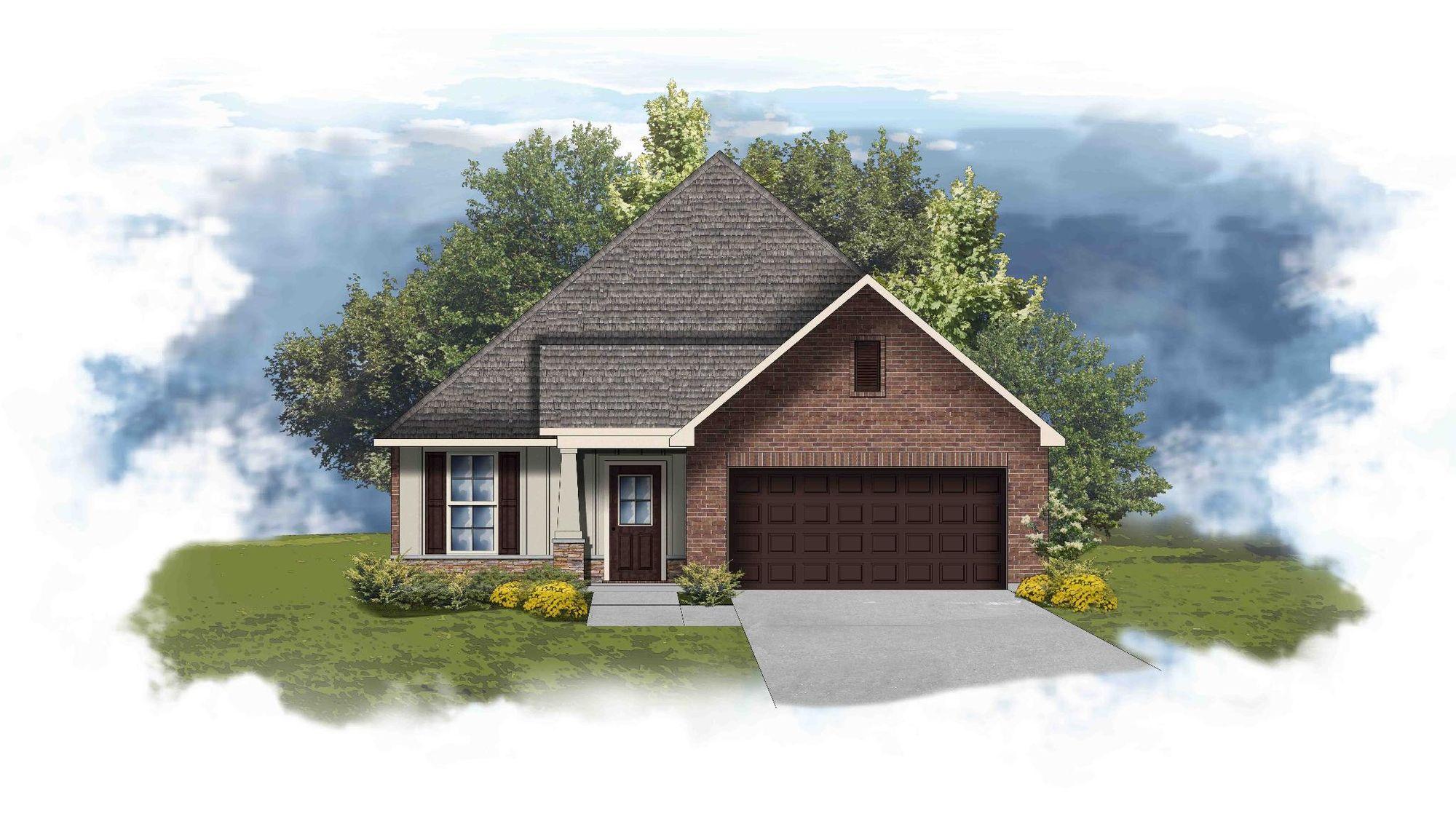Tanner II B - Open Floor Plan - DSLD Homes