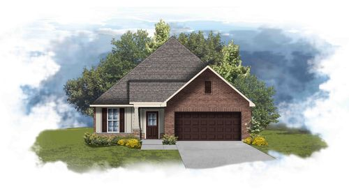 Tanner II B - Open Floor Plan - DSLD Homes