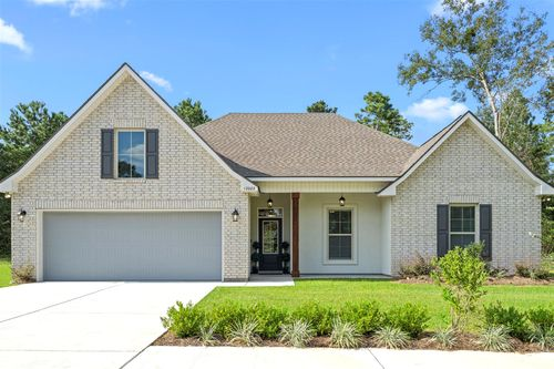 Grand Oaks Estates - Camellia IV B - Model Home Exterior - DSLD Homes - Gulfport, LA