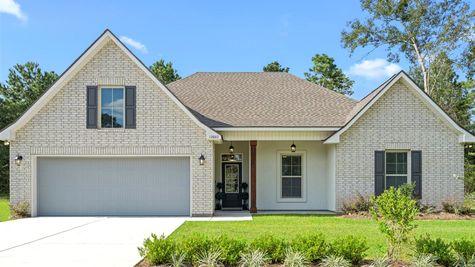 Grand Oaks Estates - DSLD Homes - Model Home Exterior - Gulfport, Mississippi