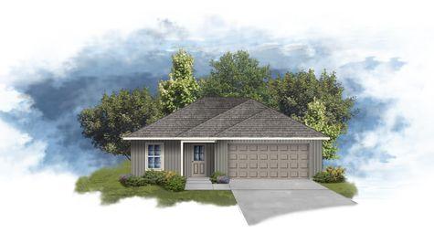DSLD Homes - Dunn  IIII H Floorplan  Elevation - Open Floorplan
