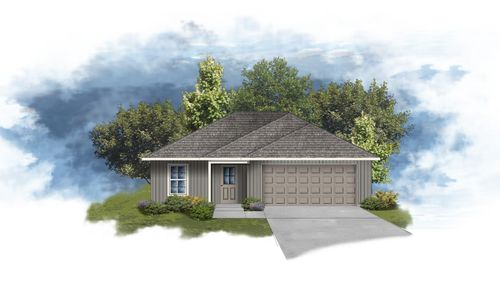 DSLD Homes - Dunn  IIII H Floorplan  Elevation - Open Floorplan