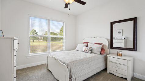 Fairview Gardens Model Home Bedroom - DSLD Homes- Zachary, LA
