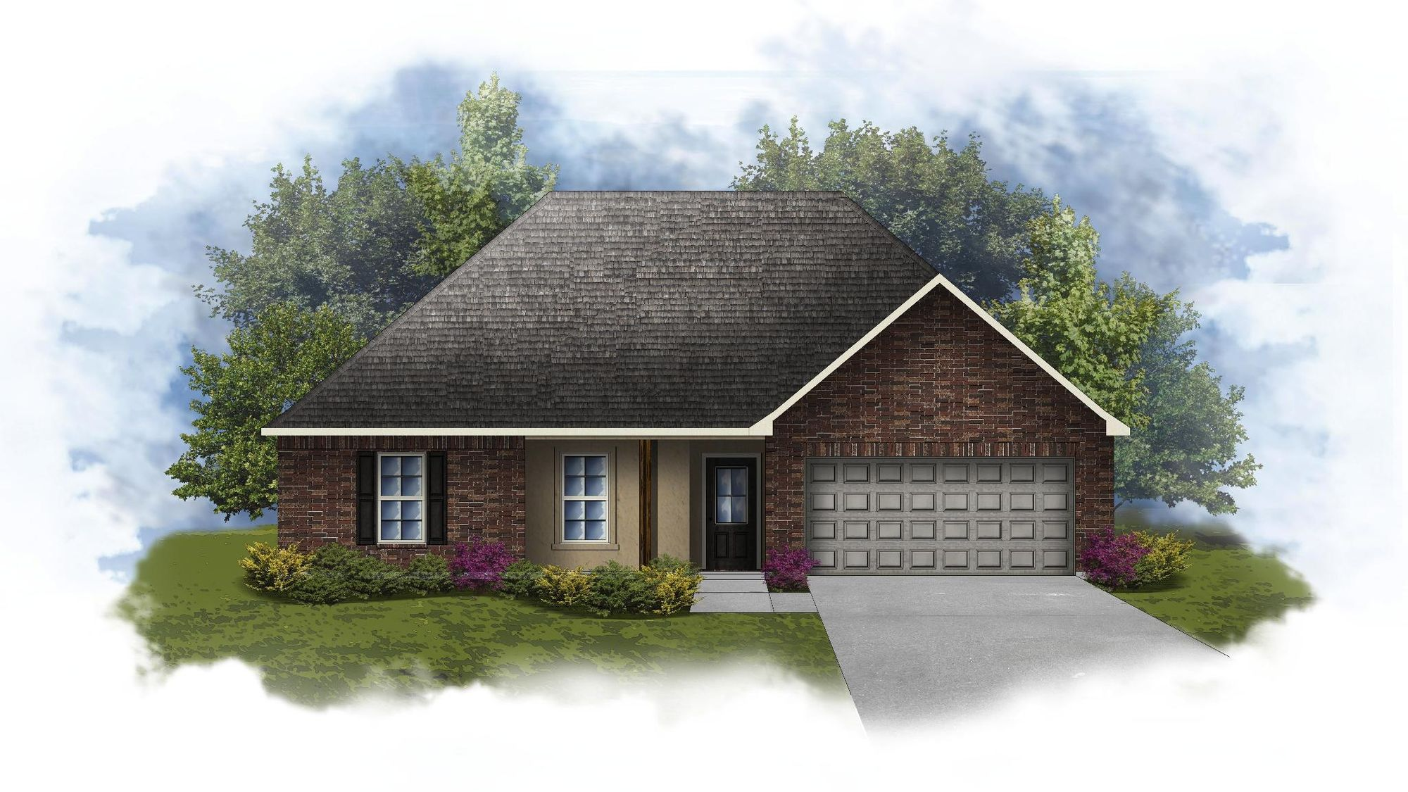 Nottingham III C - Open Floor Plan - DSLD Homes