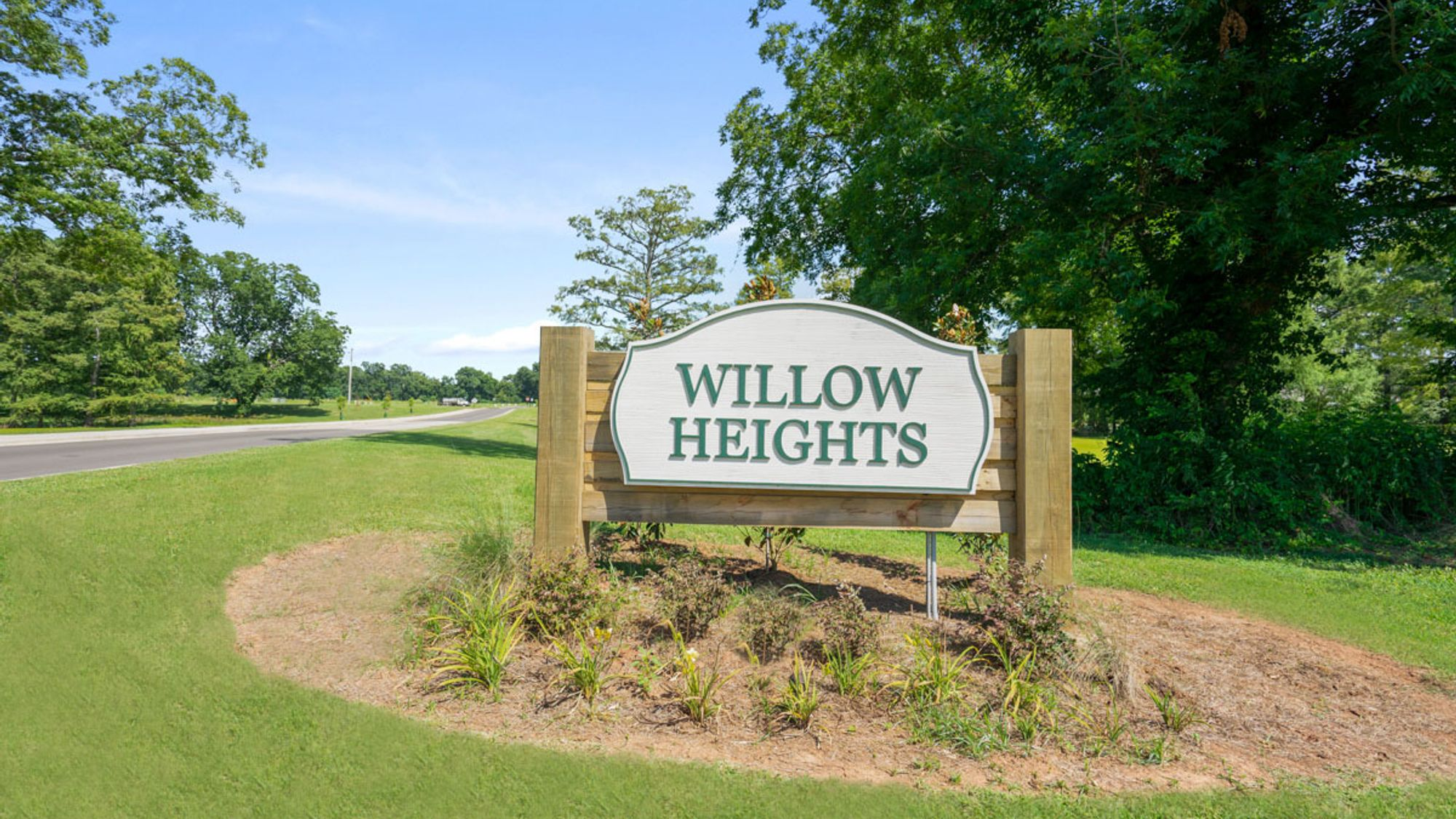 Community Sign - DSLD Homes in Bossier City - Willow Heights