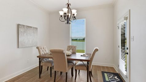 The Reserve at Conway Model Home Pictures- Dining room