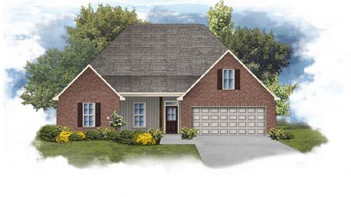 Cognac IV H - Front Elevation - DSLD Homes
