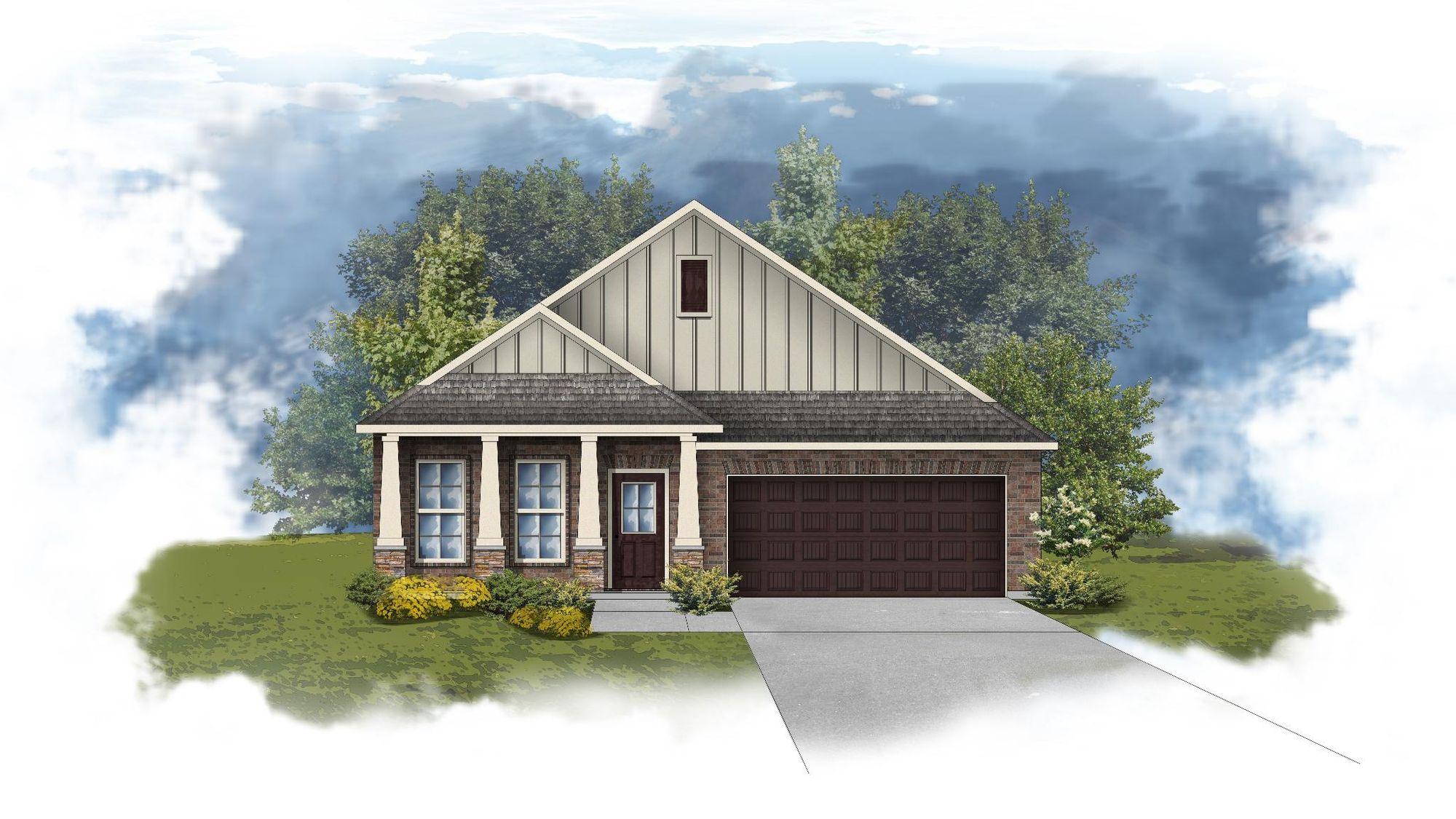 Oldtown II C - Open Floor Plan - DSLD Homes