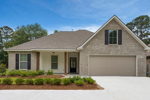 Arbor Walk Model Home - DSLD Homes - Denham Springs, LA - Ripley IV A Floor Plan