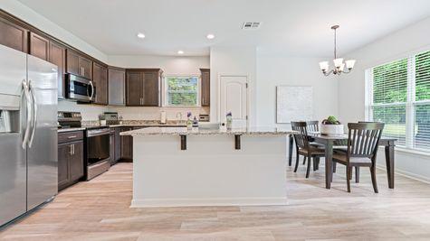 Arbor Walk Kitchen - DSLD New Construction Homes - Denham Springs, LA